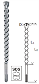 Mũi khoan bê tông Bosch SDS Max 7- D28x600x720mm-2608586786
