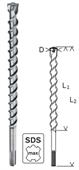 Mũi khoan bê tông Bosch SDS Max 7- D40x600x720mm-2608586803