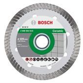 Đĩa cắt đá Ceramic Turbo Bosch 105x20x8.0mm - 2608603615