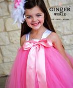 Đầm công chúa màu hồng cho bé PD184