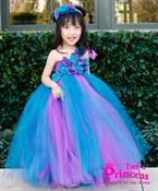 Đầm công chúa nàng tiên hoa lan rừng Princess_PR109