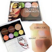 Tạo khối và che khuyết điểm City Color Contour & Correct Cream Palette
