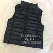 Áo Gile lông vũ Omlesa màu đen