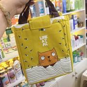 Túi giữ nhiệt con mèo vàng
