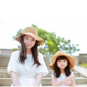 Mũ cói Mẹ và Bé