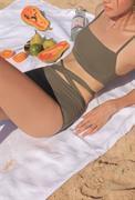 Bikini 2 mảnh áo 2 dây quần buộc nơ