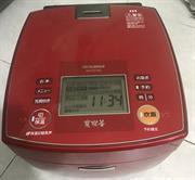 Nồi cơm điện cao tần IH MITSUBISHI NJ-VX183 1.8 LIT màu đỏ cực đẹp
