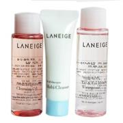 Bộ Tẩy Trang Laneige New Cleansing Trial Kit