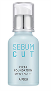 Kem Nền A'Pieu Sebum Cut Clear Foundation SPF40 PA+++