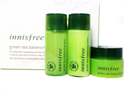 Bộ Dưỡng Da Trà Xanh Green Tea Balancing Special Kit Innisfree - 3 items