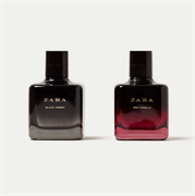 Set 2 Chai Nước Hoa Nữ Zara Woman Red Vanilla x Black Amber 100ml