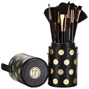 Bộ Cọ Trang Điểm 11 Cây BH Cosmetics Dot Collection Brush Set Black