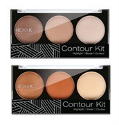 Tạo Khối Highlight 3 Ô Nickak K New York Contour Kit