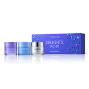 "Set 3 Bộ Mặt Nạ Ngủ Laneige ""Delight Pop!"" Mini Sleeping Mask Set"
