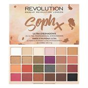 Bảng Phấn Mắt Soph x Makeup Revolution London Ultra Eyeshadows