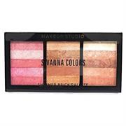 Bảng Nhũ Mắt Highlight Sivanna Color Shimmer Brick Palette