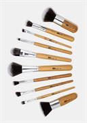Bộ Cọ Trang Điểm 10 Cây AOA Studio 10pc Bamboo Brush Set