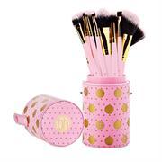 Bộ Cọ Trang Điểm 11 Cây BH Cosmetics 11 Pcs Pink-A-Dot Brush Set