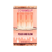 Phấn Nhũ Bắt Sáng & Má Hồng Makeup Revolution Peach And Glow Highlight And Illuminator Duo