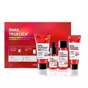 Bộ Dưỡng Da Mini 4 Sản Phẩm Some By Mi Snail Truecica Miracle Repair Starter Set