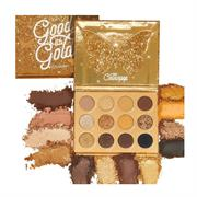 Bảng Phấn Mắt 12 Ô Colourpop Good As Gold Pressed Powder Palette
