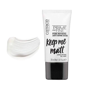 Kem Lót Catrice Prime And Fine Pore Refining Anti Shine Base Keep Me Matt