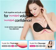 Áo ngực không dây, nâng ngực chất Silicon mặc áo hở lưng hở vai