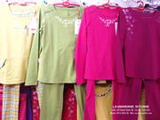 Bộ đồ 2015 mặc nhà PALTAL, áo dài tay quần dài - có nhiều màu