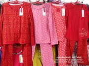 Bộ đồ 2015 mặc nhà WINNY, áo dài tay in hoa quần dài - có nhiều màu