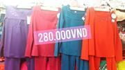 Bộ đồ mặc nhà WONNERFUL khuyến mại giảm giá