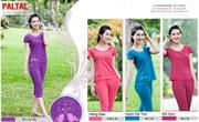 Bộ đồ thời trang mặc nhà nữ PALTAL, chất liệu Cotton_243417