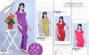 Bộ đồ thời trang mặc nhà nữ PALTAL, chất liệu Cotton_0232053