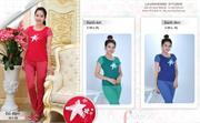Bộ đồ thời trang mặc nhà nữ PALTAL, chất liệu Cotton_0232078