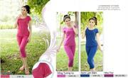 Bộ đồ thời trang mặc nhà nữ PALTAL, chất liệu Cotton_243337
