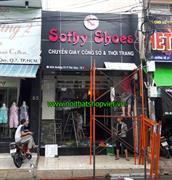 Bảng hiệu Shop Giày Sothy Shoes Quận 7