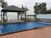 xây dựng bể bơi phong cảnh