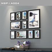 Bộ khung ảnh treo tường theo phong cách Châu Âu A004