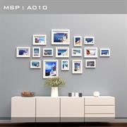 Bộ khung ảnh treo tường phong cách Luxury A010