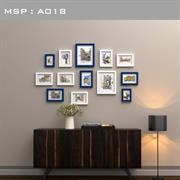 Bộ khung ảnh treo tường giá rẻ A018