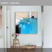 Tranh treo trừu tượng phong cách hiện đại N042