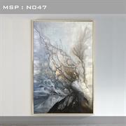 Bức tranh trừu tượng cao cấp giá rẻ N047
