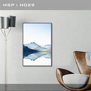 Tranh treo tường trang trí phòng khách N029