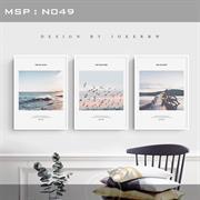 Bộ tranh treo tường phong cảnh hiện đại N049
