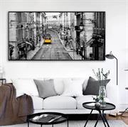 Tranh treo tường phong cách đen trắng hiện đại N144