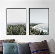 Tranh treo tường phong cảnh Bắc Âu trên vải canvas N120