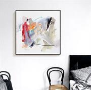 Tranh trừu tượng trên vải canvas đẹp N096