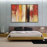 Tranh trừu tượng trang trí phòng khách đẹp N083