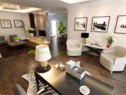 Thiết kế nội thất chung cư cao cấp Ciputra nhà Chị Ngọc