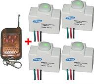 Gói 4 công tắc RC1S và 01 remote RM04