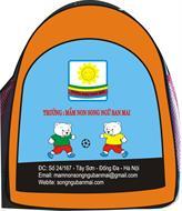 Ba lô trường mầm non song ngữ Ban Mai